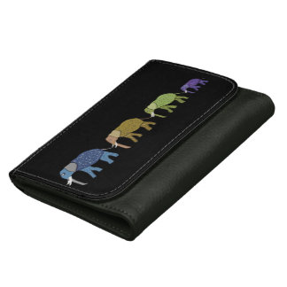 Elephants Never Forget Wallets For Women