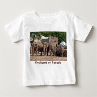 Elephants on Parade Baby T-Shirt