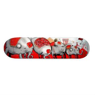 Elephants On Parade - Street Art Sk8 Deck Skate Decks
