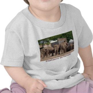 Elephants on Parade Tshirt
