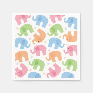 Elephants Paper Napkins