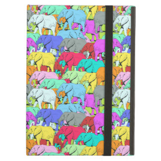 Elephants Parade - Colourful iPad Air Case