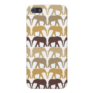 Elephants Pattern Cover For iPhone SE/5/5s