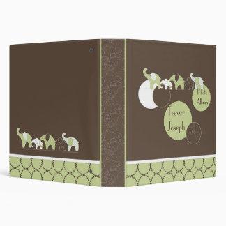 Elephant's Photo Album in Green Binder