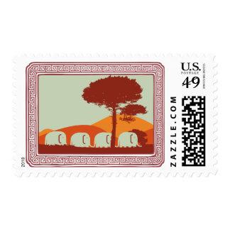elephants postage