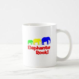 Elephants Rock! Coffee Mug
