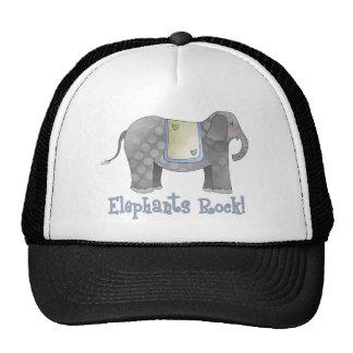 Elephants Rock Trucker Hat