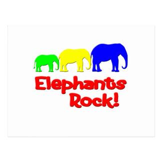 Elephants Rock! Postcard