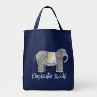Elephants Rock Tote Bag