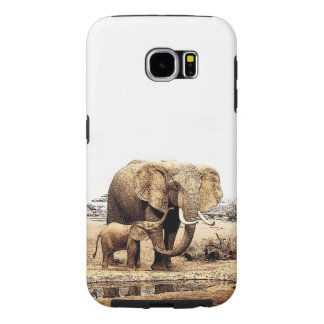 Elephants Samsung Galaxy S6 Case