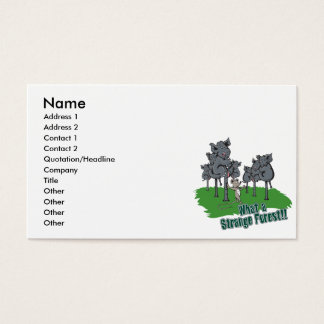 elephants scared of mouse funny forest vector cart business card