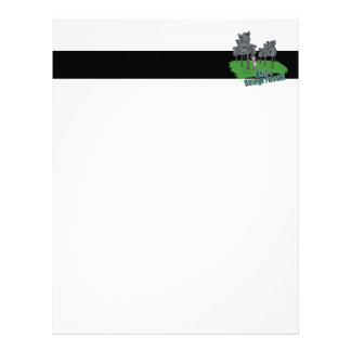 elephants scared of mouse funny forest vector cart letterhead