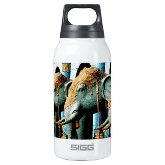 Elephants 10 Oz Insulated SIGG Thermos Water Bottle