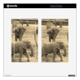 Elephants Skin (Kindle, etc) Decal For Kindle Fire