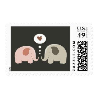 Elephants Soul Mates stamps