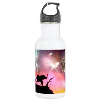 Elephants Stainless Steel Water Bottle