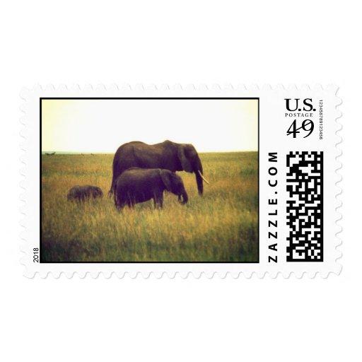 elephants stamp 2