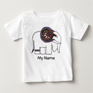Elephant's Story (color) Baby T-Shirt