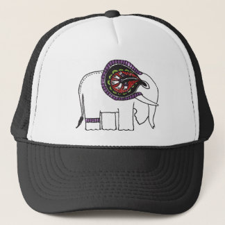 Elephant's Story (color) Trucker Hat