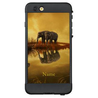 Elephants Sunset LifeProof NÜÜD iPhone 6 Plus Case