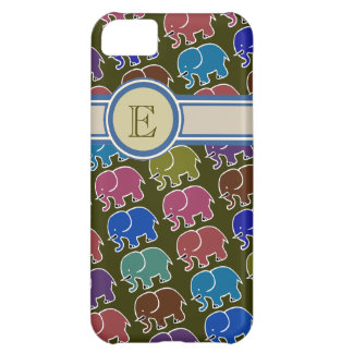 elephants to add name initial case for iPhone 5C
