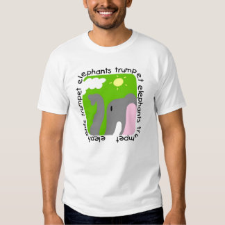 Elephants Trumpet Tshirts and Gifts