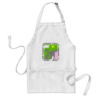 Elephants Trumpet Tshirts and Gifts Adult Apron
