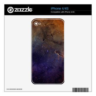 Elephant's Trunk Nebula iPhone 4S Skins
