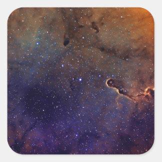 Elephant's Trunk Nebula Square Sticker