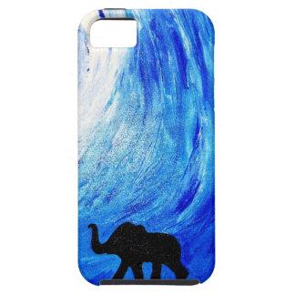 Elephants Under Moonlight (K.Turnbull Art) iPhone 5 Cover