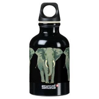 Elephants Water Bottle