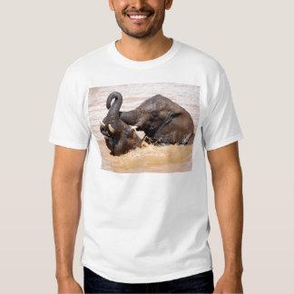 Elephants water world tee shirt