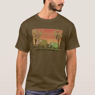 Elephants Wildlife Habitat T-shirt