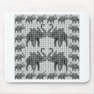 Elephants,Woodcraft,Handcrafted,Gifts,Healing,Deco Mouse Pads