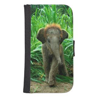 Elephat Samsung Galaxy S4 Wallet Case
