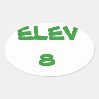 ELEV8 Sticker