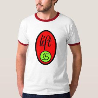 Elevación 15 - Camiseta gris/rojo - huevo - Txt Poleras