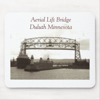 Elevación aérea BridgeDuluth Minnesota Tapete De Ratones
