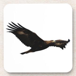 Elevación de Eagle de oro Posavasos De Bebida