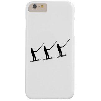 Elevación de esquí funda para iPhone 6 plus barely there