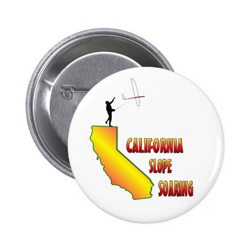 Elevación de la cuesta de California Pin Redondo 5 Cm
