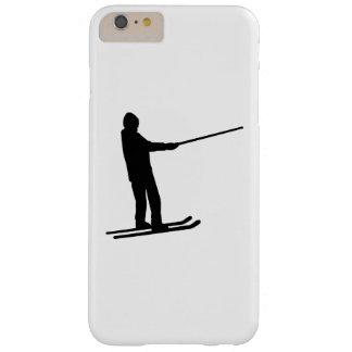 Elevación de la fricción del esquí funda de iPhone 6 plus barely there
