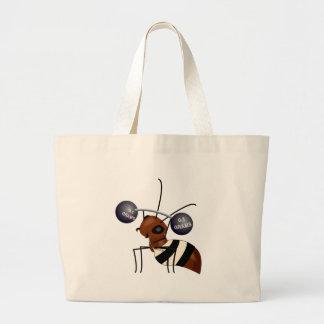 Elevación de la hormiga bolsa tela grande