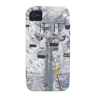 Elevación de silla del esquí iPhone 4 funda