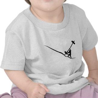 Elevación de Sisyphus Crossfit Oly Camisetas