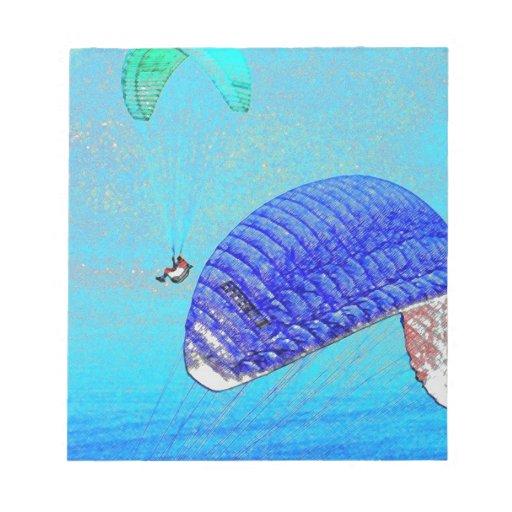 Elevación del Paragliding Blocs