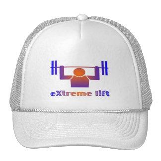 elevación extrema gorras de camionero