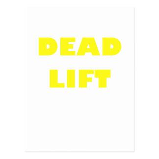 Elevación muerta postal