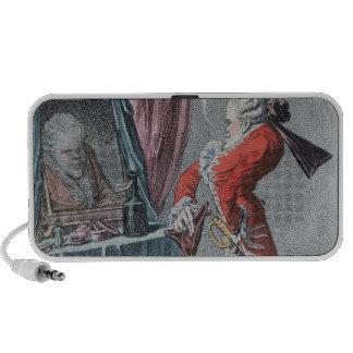 Elevación señorial, pub. por Hannah Humphrey, 1802 Altavoces De Viajar