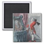 Elevación señorial, pub. por Hannah Humphrey, 1802 Imán Cuadrado